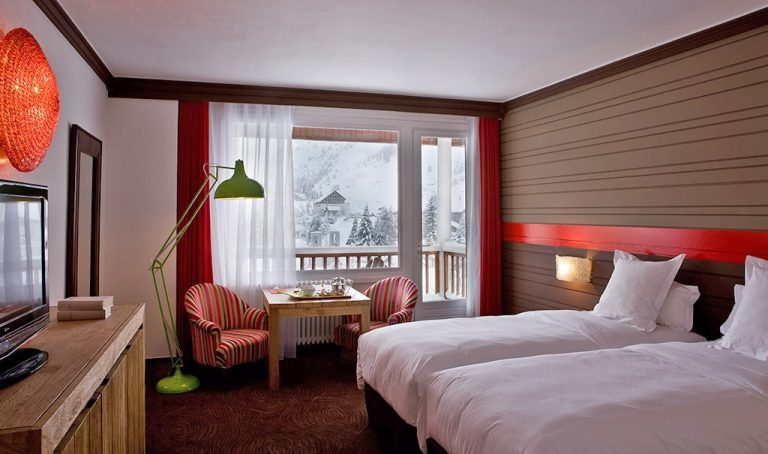 Hotel Ormelune Val d'Isère - Twin Room