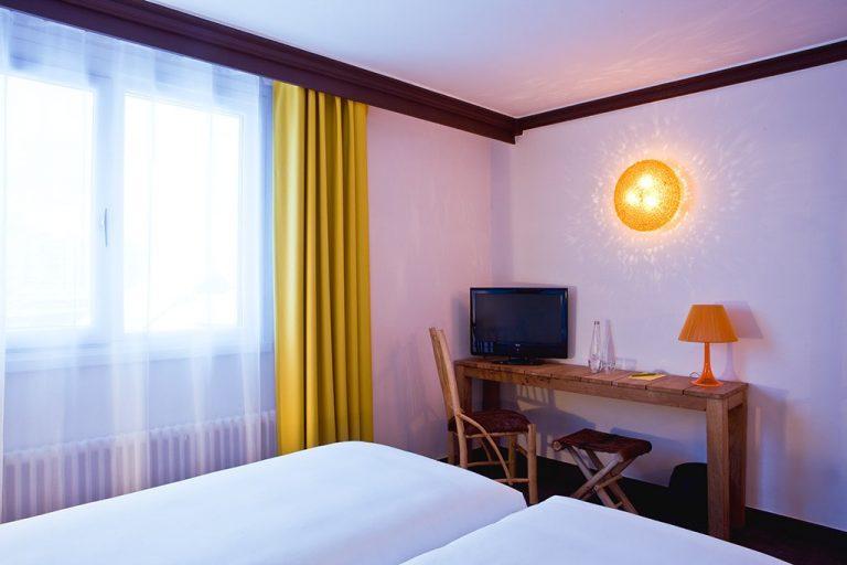 Hotel Ormelune Val d'Isère - Chambre Medium - Chambre Twin: Bureau